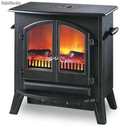 Fuego decorativo para chimeneas beautiful por ltimo - Estufas decorativas electricas ...
