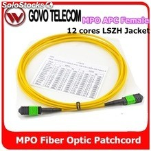 China FC PC APC Patch cord de Fibra Óptica para ODF Cable de Coneción