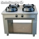 Chinese gas cooker, 4 burners, control panel on both sides - mod. cc/04/110 cs -