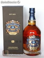 Chivas Regal Scotch Whisky 12, 18, 21, 25 years old. Alcohol