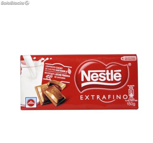 Chocolate Nestle Extrafino Leche 125 Gr