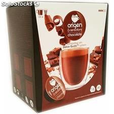 Chocolate origen sensations, 16 cápsulas compatibles dolce gusto - origen and
