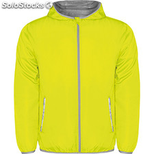 Chubasquero Hombre l amarillo fluor nature street collection