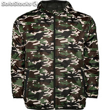 Chubasquero Hombre xs camuflaje bosque nature street collection