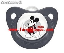 Chupete Silicona Mickey Mouse Nuk 6-18 meses, T!