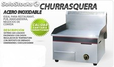 churrasquera industrial a gas