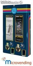 Cigarrete paper Vending machine and Lighters, 2 channels, uniblock2