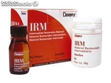 Cimento - irm - kit (pó 38g + liq. 15 ml) - dentsply