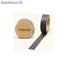 Cinta adhesiva washi tape 15 mm x 10 metros DS-119