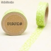 Cinta adhesiva Washi Tape 15mm x 10 metros DS-108