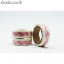 Cinta adhesiva washi tape 15mm x 10 metros ds-112