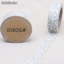 Cinta adhesiva Washi Tape 15mm x 10 metros DS-128