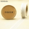 Cinta adhesiva Washi Tape 15mm x 10 metros DS-129