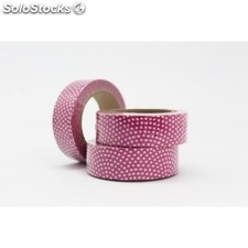 Cinta adhesiva washi tape 15mm x 10 metros ds-139