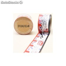 Cinta adhesiva washi tape 30 mm x 10 metros DS-100