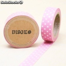 Cinta adhesiva washi tape DS-118 (15 mm x 10 metros) Ref.013DS-118