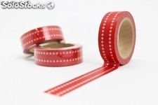 Cinta adhesiva washi tape DS-140 (15 mm x 10 metros) Ref.013DS-140