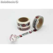 Cinta adhesiva washi tape muffins 15 mm x 10 m. DS-137