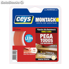 Cinta bd cara led montack ceys 10 MX8MM