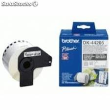 Cinta continua brother papel blanca removible dk44205 12mm ql-560 ql-570 ql-580n