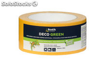 Cinta doble cara deco green 5CM x 10M