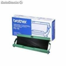 Cinta termica brother pc75 a4 144 paginas fax t104 t106