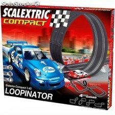 Circuito Scalextric Compact Loopinator 1:43