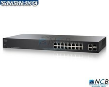 Cisco Slm2016T-Na Switch 16 x 10/100/1000+2 x Combo Giga