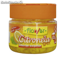 Citronela gel flower 125 g