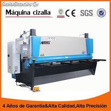 Cizalla hidráulica accurl MS8-12X4000mm