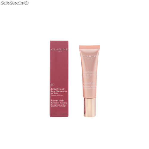 Clarins ECLAT MINUTE base illuminatrice de teint #03-peach 30 ml