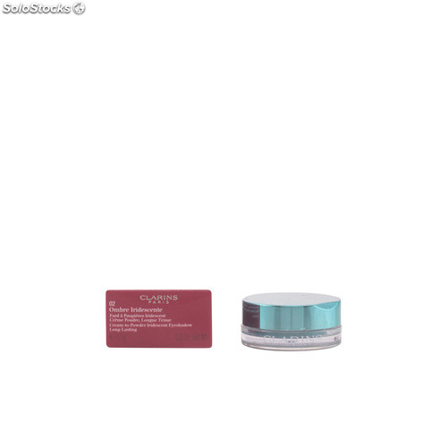 Clarins ombre iridescente #02-aquatic green 7 gr