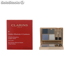 Clarins - ombres minerales 4 couleurs 04-indigo 5.8 gr