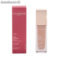 Clarins - skin illusion 110.5-almond 30 ml