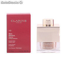 Clarins - skin illusion powder 113-chestnut 13 gr