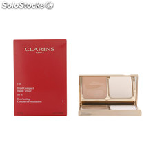Clarins - teint haute tenue cpct 110-honey 10 gr