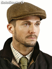Classic british tweed caps