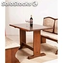 Classic style table in solid tulipier-mod. 045t12-wooden frame-wood finishes in