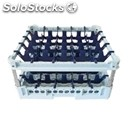Classical rack, 25 square glass compartments - mod. kit3/5x5 - rack dimensions