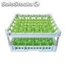 Classical rack, 36 square glass compartments - mod. kit3/6x6 - rack dimensions