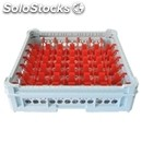 Classical rack, 49 square glass compartments - mod. kit2/7x7 - rack dimensions