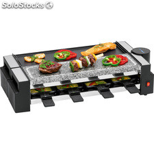 Clatronic Raclette - Grill con piedra natural RG 3678
