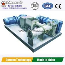 Clay Tile Making Machine with Vacuum Extruder