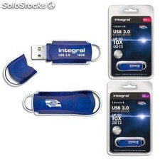 Clé usb courrier usb 3.0 integral - clé usb courrier 64go usb 3.0 integral