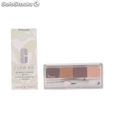 Clinique all about shadow quad #03-morning java 4.8 gr
