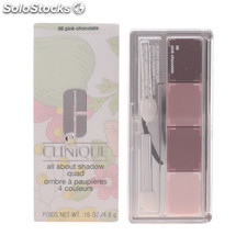 Clinique - all about shadow quad 06-pink chocolate 4.8 gr