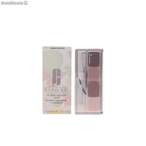 Clinique all about shadow quad #06-pink chocolate 4.8 gr