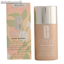 Clinique - EVEN BETTER fluid foundation 06-honey 30 ml