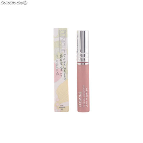 Clinique LONG LAST glosswear #21-bamboo pink 6 ml