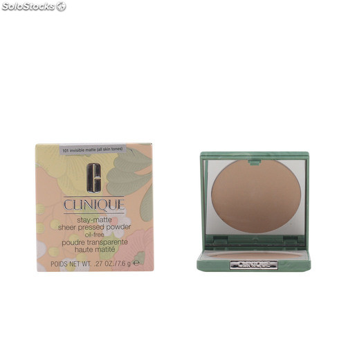 Clinique stay matte sheer powder #101-invisible matte 7.6 gr